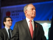 New York City Michael Bloomberg at Internet Week