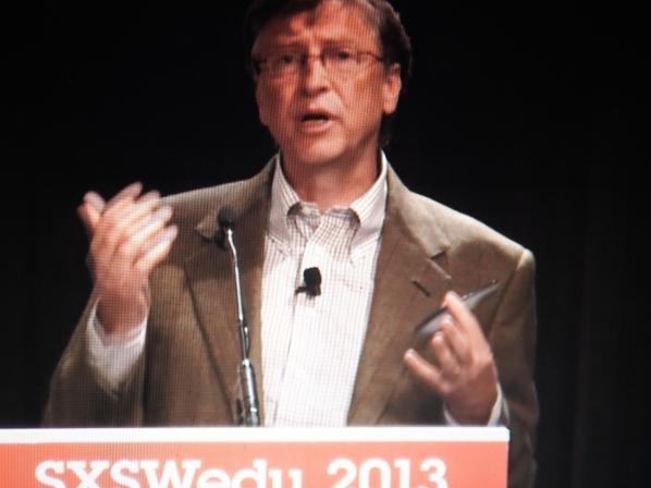 Bill Gates at SXSW Edu