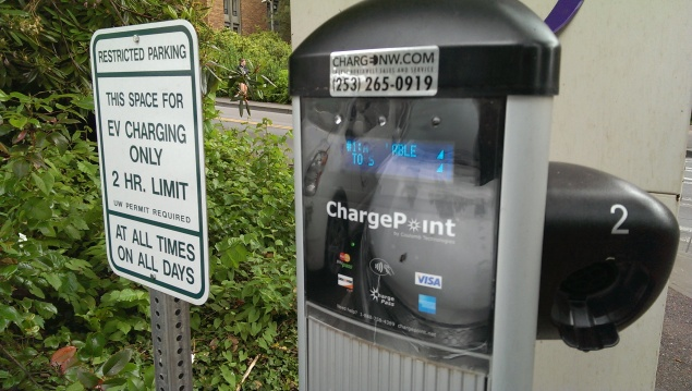 It's free to charge on campus