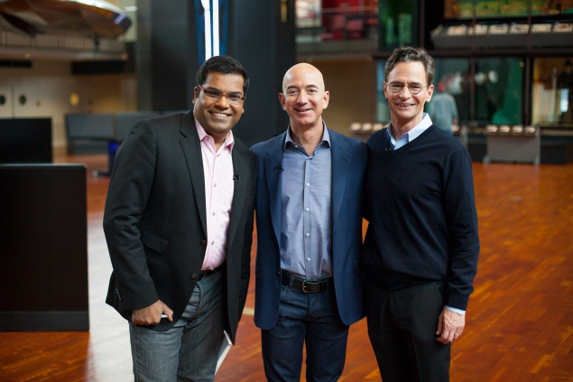 With Jeff Bezos and MOHAI Director Leonard Garfield. All rights reserved HRH Media.