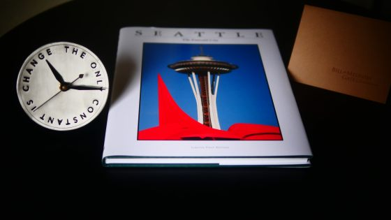 Gates Clock and Seattle Book 1