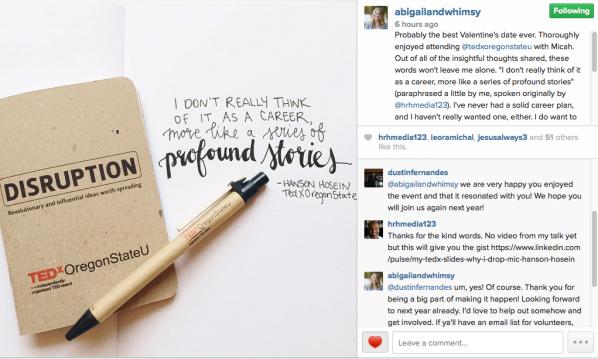 Instagram Post by Abi Losli
