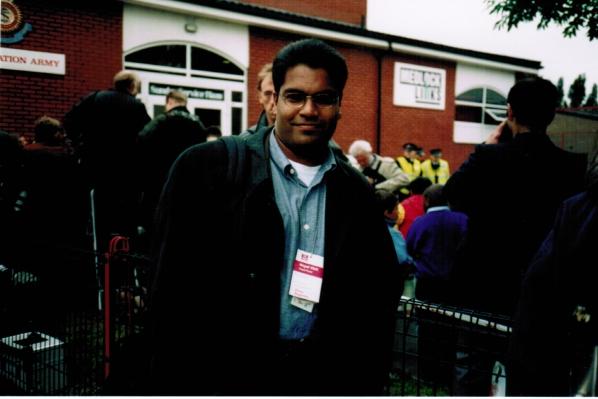 Hanson at Royal Visit for Charles 1997